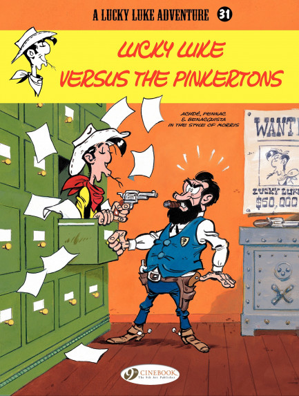 Lucky Luke Lucky Luke versus The Pinkertons