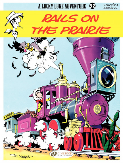 Lucky Luke Rails on the Prairie