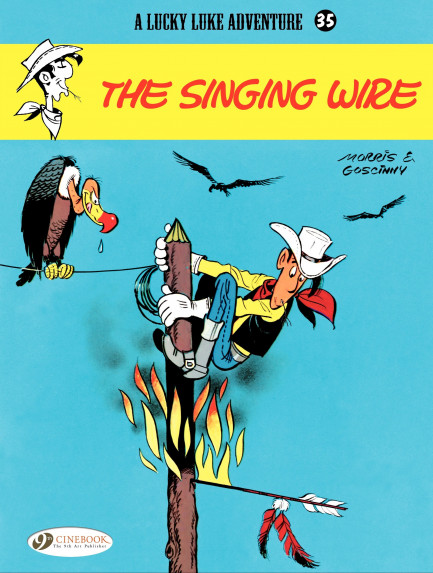 Lucky Luke The Singing Wire
