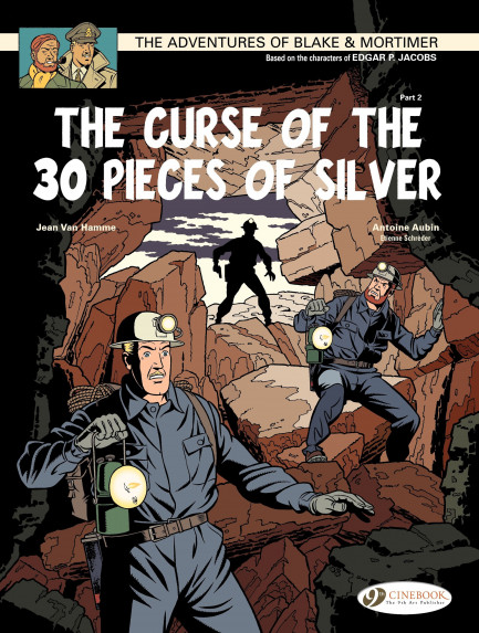 Blake & Mortimer The Curse of the 30 pieces of Silver (Part 2)