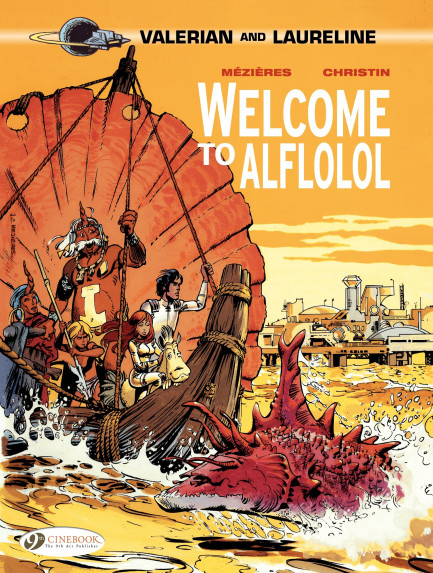 Valerian and Laureline Welcome to alflolol