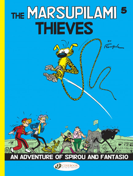 Spirou & Fantasio The Marsupilami Thieves