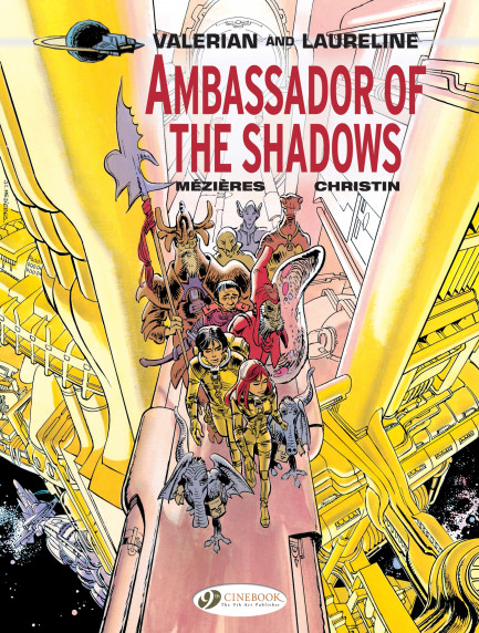 Valerian and Laureline Ambassador of the Shadows