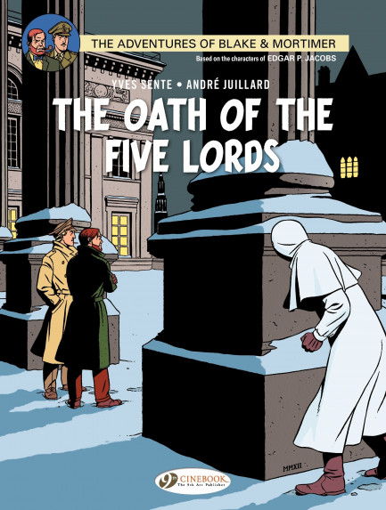 Blake & Mortimer The Oath of the Five Lords