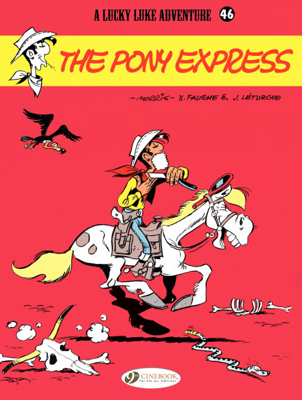 Lucky Luke The Pony Express