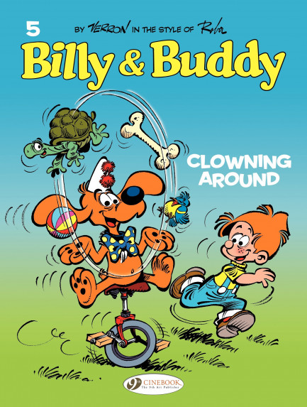 Billy & Buddy Clowning around