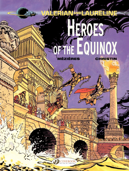 Valerian and Laureline Heroes of the Equinox