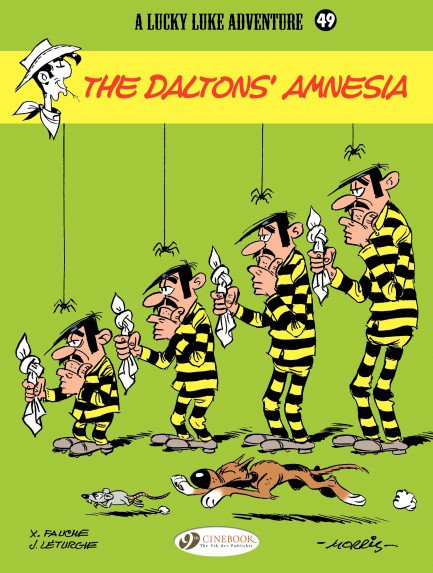 Lucky Luke The Dalton's amnesia