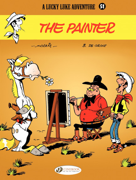 Lucky Luke The Painter