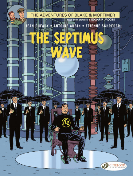 Blake & Mortimer The Septimus Wave