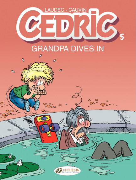 Cedric Grandpa Dives in
