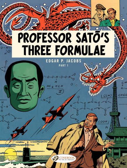 Blake & Mortimer Professor Sato's Three Formulae - part 1
