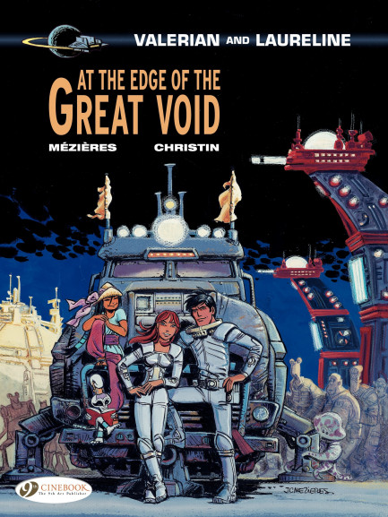 Valerian and Laureline At the Edge of the Great Void
