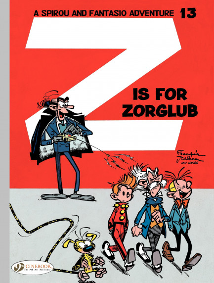 Spirou & Fantasio Z is for Zorglub
