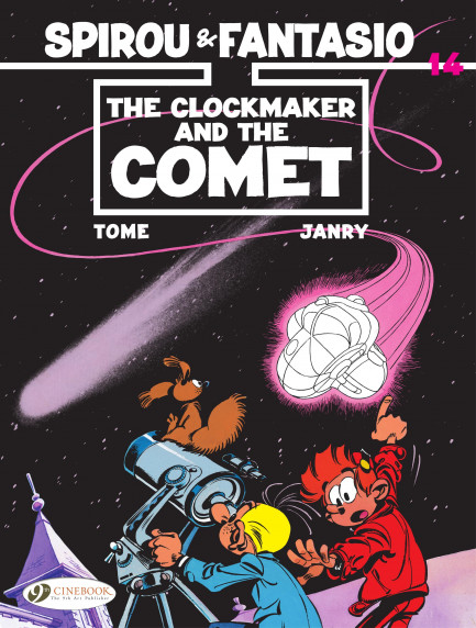 Spirou & Fantasio The Clockmaker and the Comet