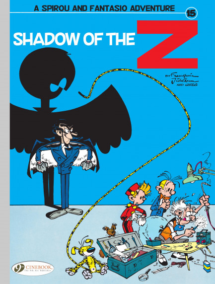 Spirou & Fantasio Spirou 15 - Shadow of the Z