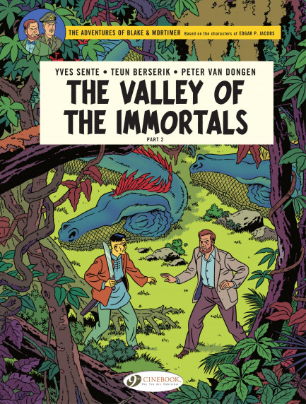 Blake & Mortimer Blake & Mortimer -  The Valley of the immortals Part 2