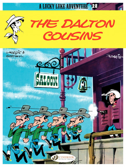 Lucky Luke The Dalton Cousins