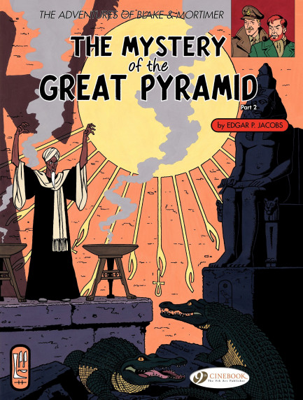 Blake & Mortimer The Mystery of the Great Pyramid (part 2)