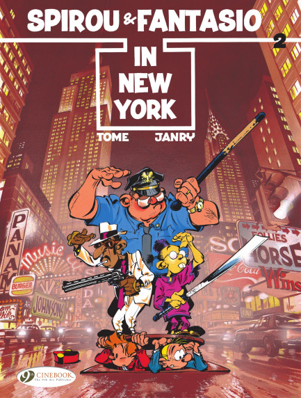Spirou & Fantasio in New York