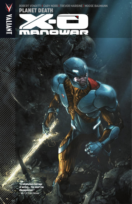 X-O Manowar X-O Manowar Vol. 3: Planet Death TPB