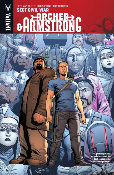 Archer & Armstrong Archer & Armstrong Vol. 4: Sect Civil War TPB
