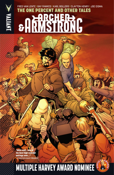 Archer & Armstrong Archer & Armstrong Vol. 7: The One Percent and Other Tales TPB