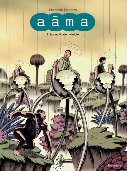 Aâma Aâma (Tome 2) - La multitude invisible