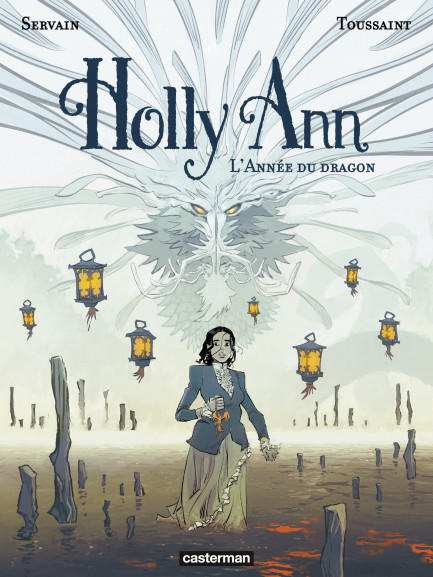 Holly Ann Holly Ann (Tome 4)  - L'Année du dragon
