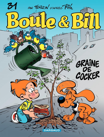 Boule & Bill Graine de cocker