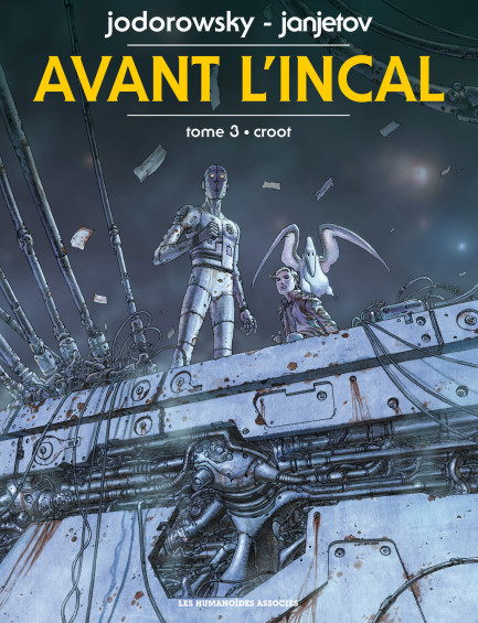 Avant l'Incal Croot