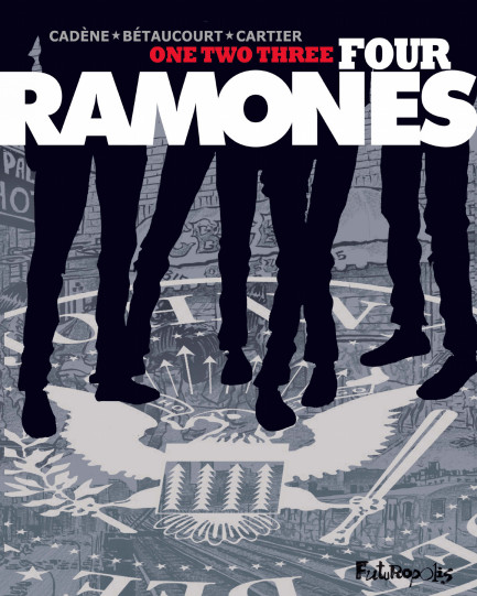 One, two, three, four, Ramones ! One, two, three, four, Ramones !