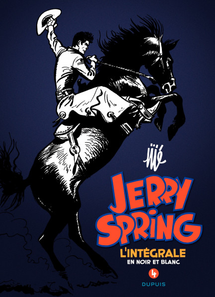 Jerry Spring - L'Intégrale Jerry Spring 4 intégrale
