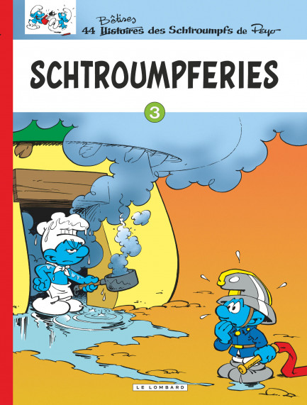 Smurfs (The) - Out Serial - Le Lombard Schtroumpferies T3