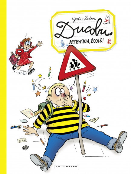 L'Elève Ducobu Ducobu  - tome 24 - Attention, école!