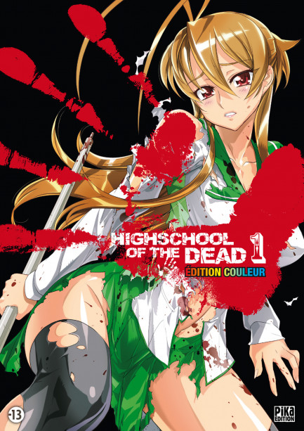 Highschool of the Dead Couleur Highschool of the Dead Couleur T01