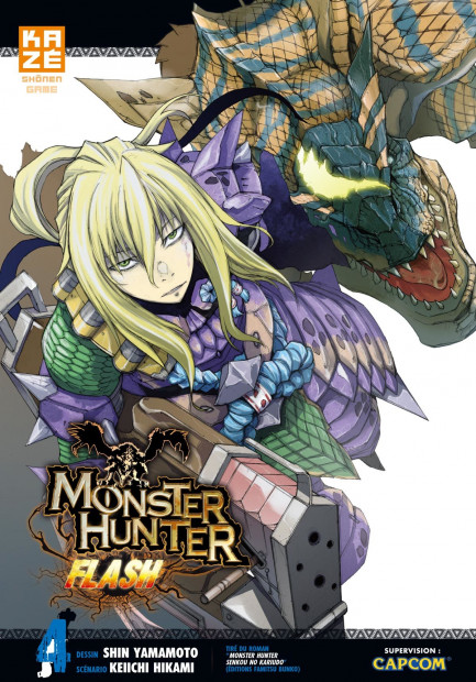 Monster Hunter Flash tome 4