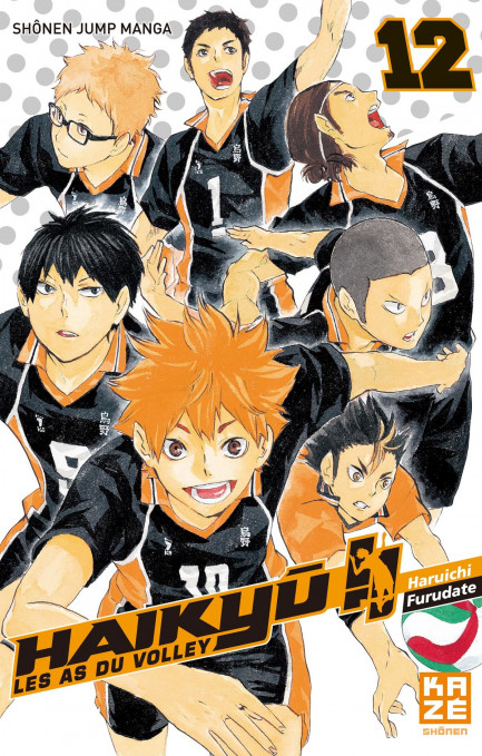 Haikyu! Les as du volley tome 12