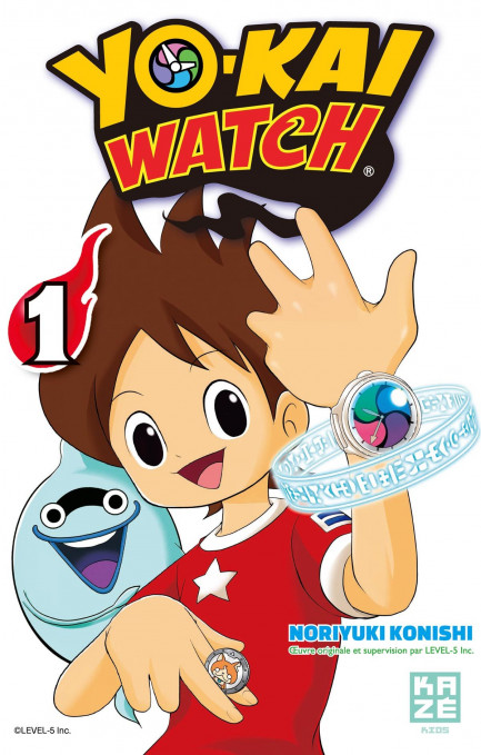 Yo-Kai Watch Yo-Kai Watch - Tome 1