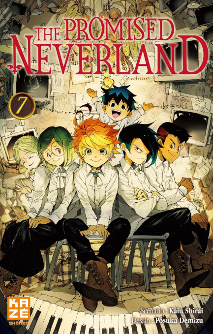 The Promised Neverland The Promised Neverland T07