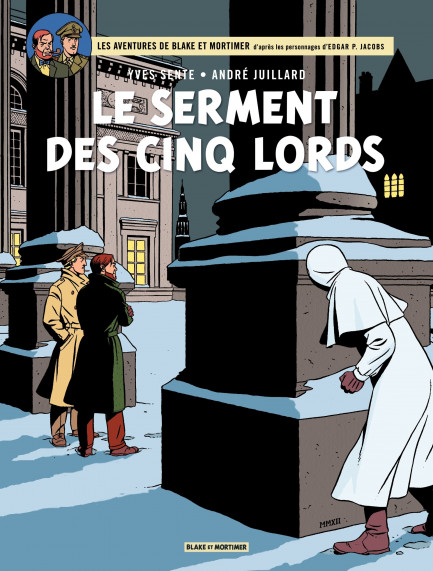 Blake & Mortimer Le Serment des cinq lords