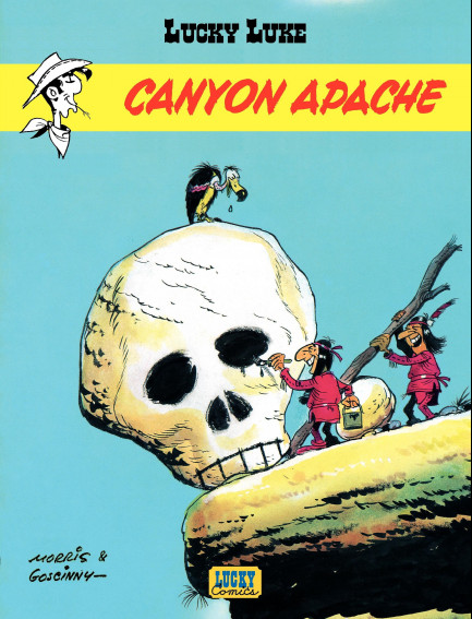 Lucky Luke (Lucky Comics) Canyon Apache