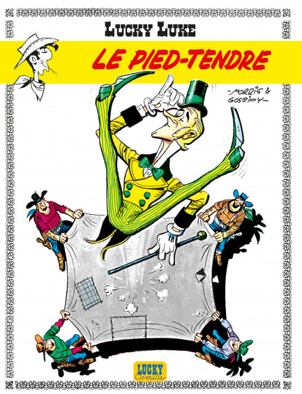 Lucky Luke (Lucky Comics) Le Pied-Tendre