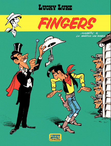 Lucky Luke (Lucky Comics) Fingers