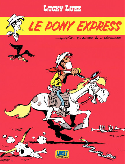 Lucky Luke (Lucky Comics) Le Pony Express