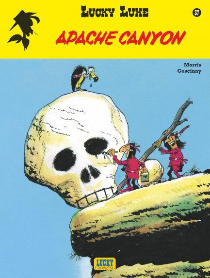 Lucky Luke Apache canyon