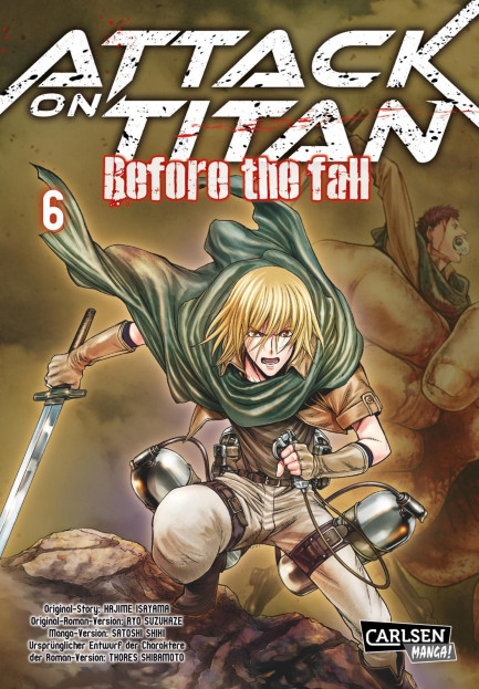 Attack on Titan - Before the Fall Attack on Titan - Before the Fall 6