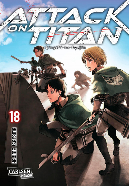 Attack on Titan Attack on Titan 18
