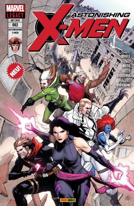 Astonishing X-Men Astonishing X-Men 2 - Ein Mann Namens X