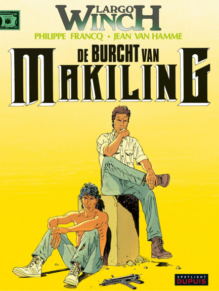 Largo Winch De burcht van Makiling